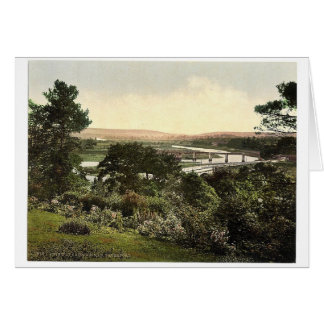 View at Cappoquin. Co. Waterford, Ireland rare Pho Greeting Cards