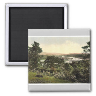 View at Cappoquin. Co. Waterford, Ireland rare Pho Refrigerator Magnet