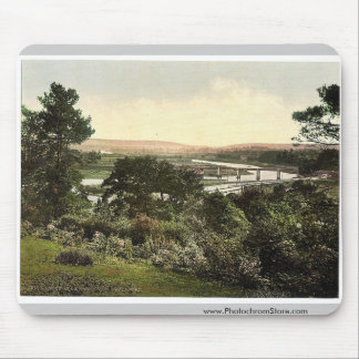 View at Cappoquin. Co. Waterford, Ireland rare Pho Mouse Pads