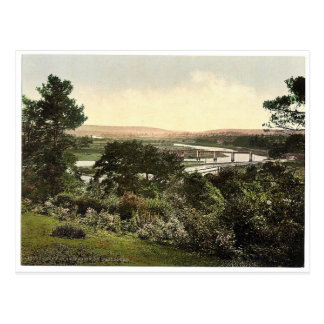 View at Cappoquin. Co. Waterford, Ireland rare Pho Postcards