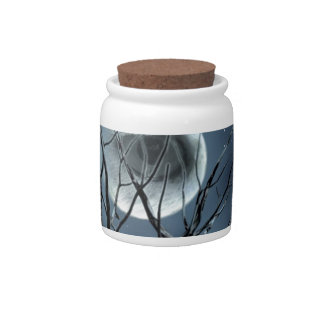 view at night candy jar