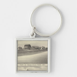View at Reids Villa Park and Residence Silver-Colored Square Keychain