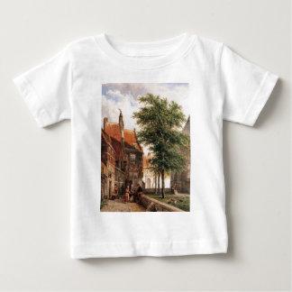 View behind the Grote Kerk in Naarden by Cornelis T-shirt
