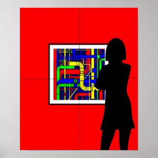 View Centre Pompidou Poster