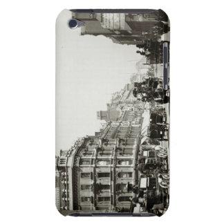 View down Oxford Street, London (b/w photo) Case-Mate iPod Touch Case