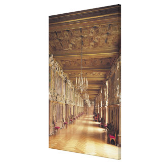 View down the length of the Gallery of Francis Stretched Canvas Prints
