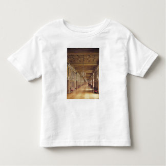 View down the length of the Gallery of Francis Toddler T-shirt
