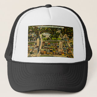 View Downtown Battle Creek, Michigan Vintage Trucker Hat