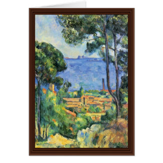 View Estaque And Chateaux D'If (The Sea At L'Estaq Greeting Card