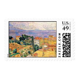 View Estaque (Area Near Marseille) By Paul Cézanne Postage