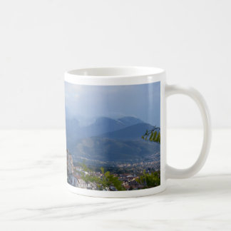 View From A Calabrian Hill Town Coffee Mugs
