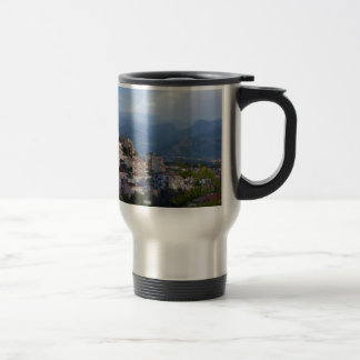 View From A Calabrian Hill Town Coffee Mug