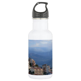 View From A Calabrian Hill Town Water Bottle