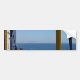 View From A Ship Bumper Sticker