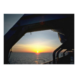 View From A Ship Personalized Invites