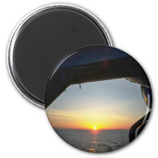 View From A Ship Refrigerator Magnet