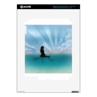 View from a Surfboard iPad 3 Decal