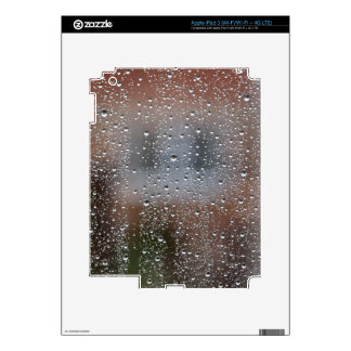 View From a Wet Window Decal For iPad 3