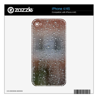 View From a Wet Window Decal For iPhone 4S