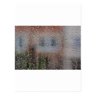 View From a Wet Window Postcard