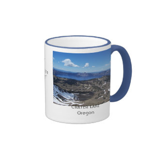 View from above ringer coffee mug