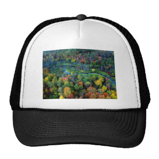 view from above trucker hat
