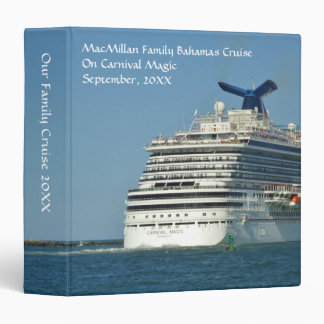 View from Astern Cruise Memory Book Binder