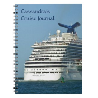 View from Astern Personalized Notebook
