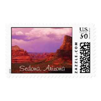 View From Bell Rock, Sedona Postage