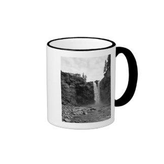 View from Below Falls Ringer Mug