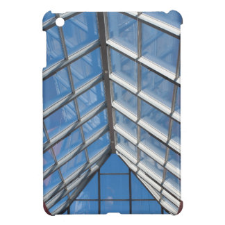 View from below the transparent roof of the glass cover for the iPad mini
