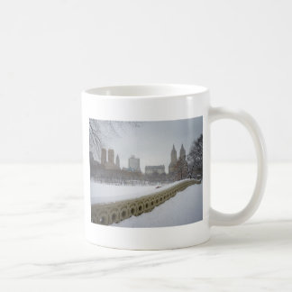 View From Bow Bridge, Central Park, New York City Coffee Mug