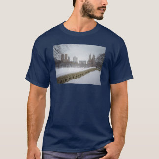 View From Bow Bridge, Central Park, New York City T-Shirt