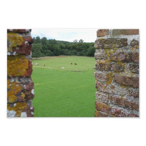 View from Brederode castle, Santpoort