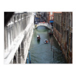 View from Bridge of Sighs, Venice Postcard