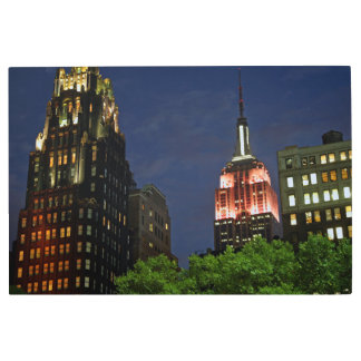 View from Bryant Park Metal Print