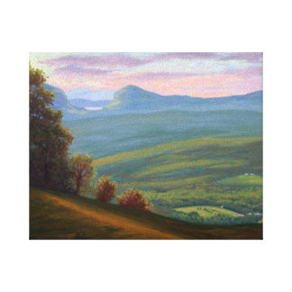View From Burke Mountain Vermont Canvas Print