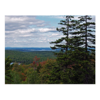 View From Cadillac Mountain Postcard