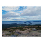 View From Cadillac Mountain Poster