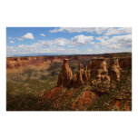 View from Canyon Rim Trail at Colorado Monument Poster