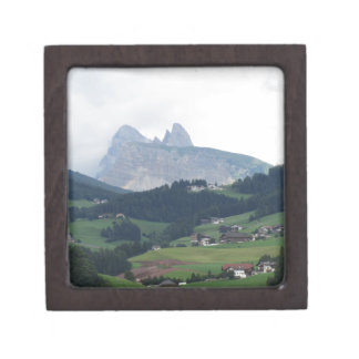 View from Castelrotto Keepsake Box
