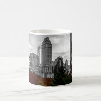View from Central Park in New York City Classic White Coffee Mug