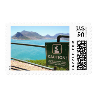 View from Chapman's Peak Drive in Cape Town Postage