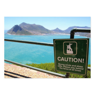 View from Chapman's Peak Drive outside Cape Town Business Card