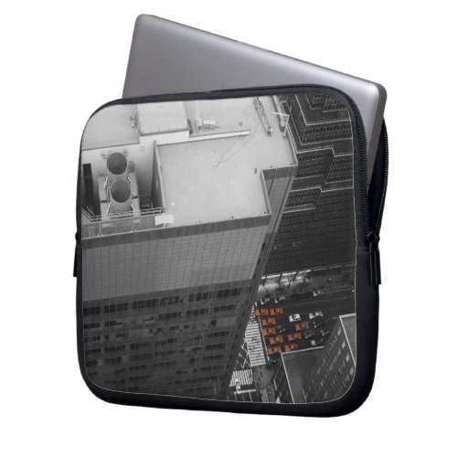 View from Chrysler building Laptop Computer Sleeves