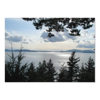 View From Chuckanut Drive Card