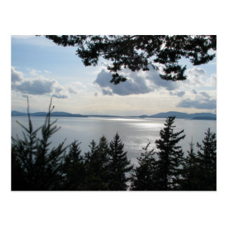 View From Chuckanut Drive Postcard