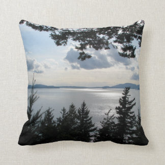 View From Chuckanut Drive Throw Pillow