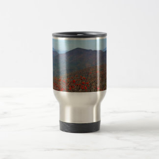 View from Craggy Dome Mountain Travel Mug