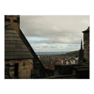 View from Edinburgh Castle Poster